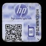 HP Neuestes Hologramm - schwarze Verpackung - Produktion seit 2012_2